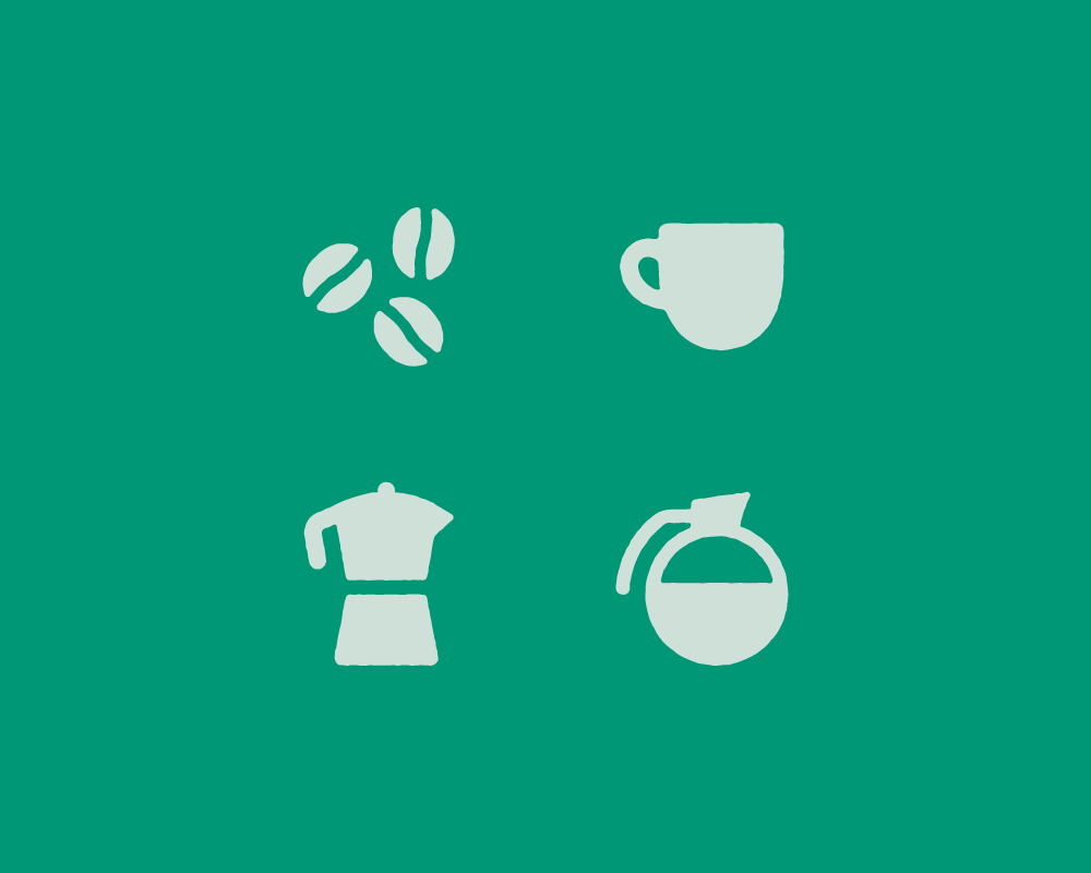 Bare Bottom Coffee Icons