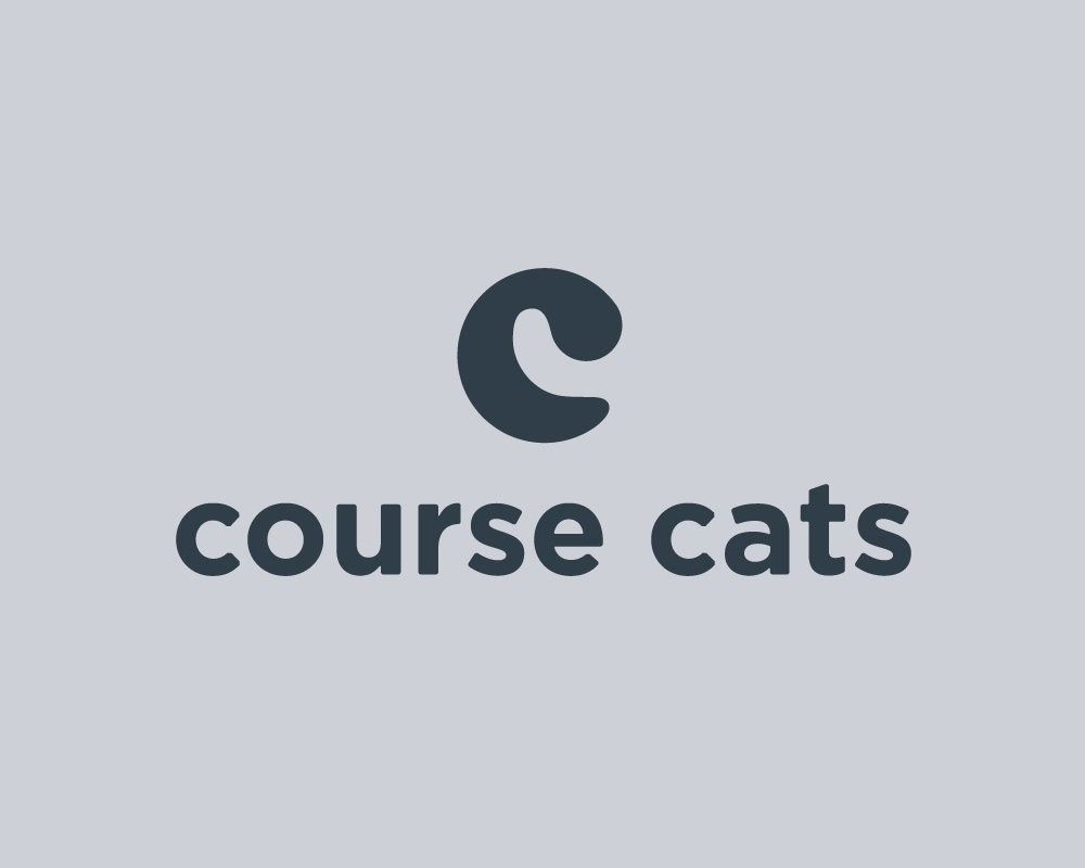 Course Cats Logo Stacked