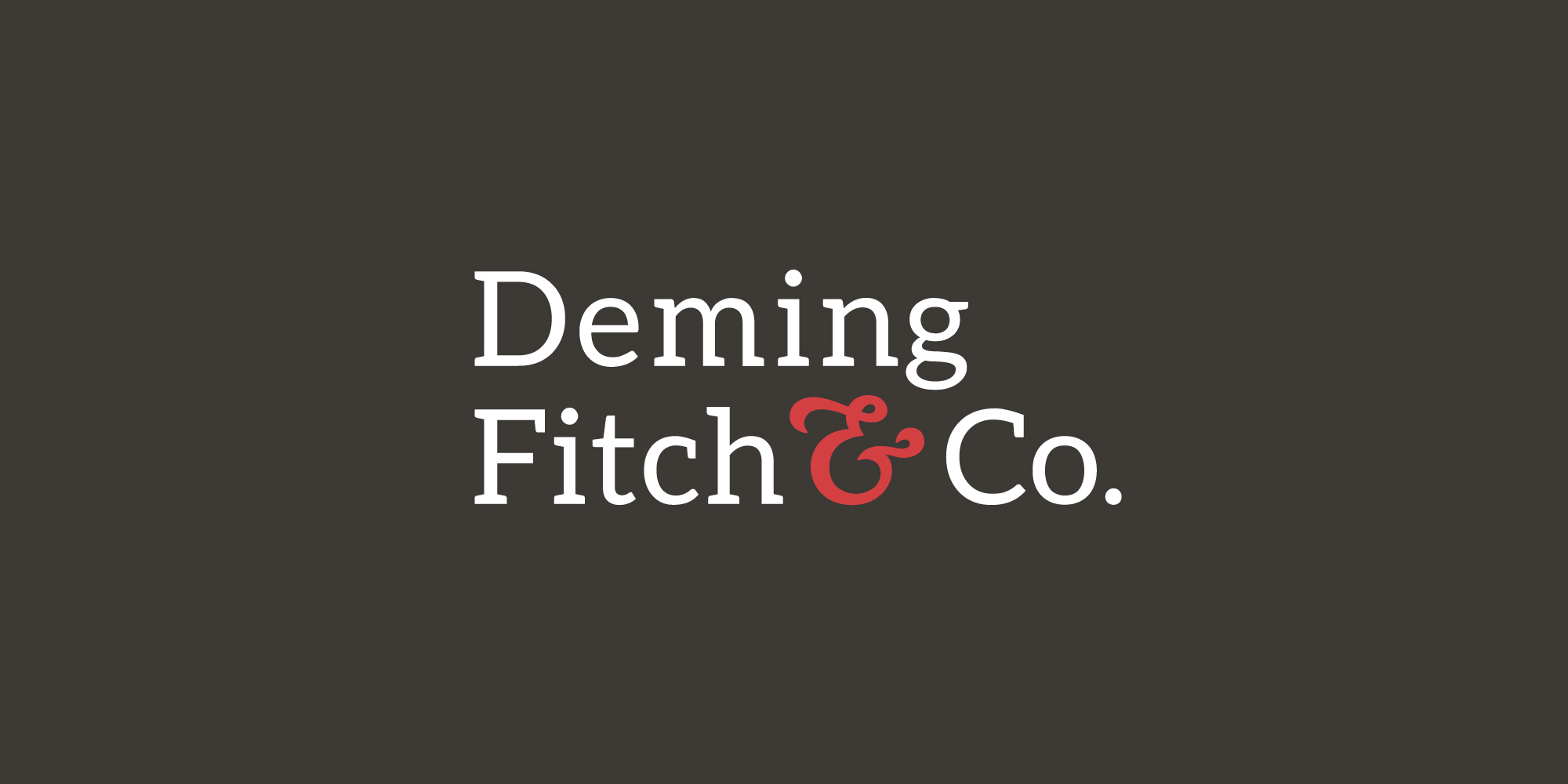 Deming Fitch and Co Logo