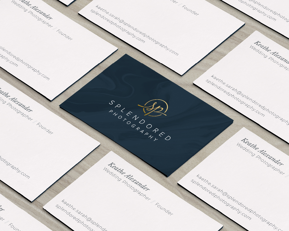 Splendored Photography Business Card